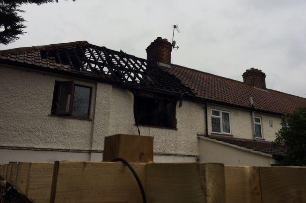 London house fire